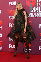 LOS ANGELES - MAR 14:  Heidi Klum at the iHeart Radio Music Awards - Arrivals at the Microsoft Theater on March 14, 2019 in Los Angeles, CA