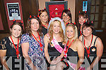 0526-0529.---------.Hen's on Tour.-------------.Georgina McGough(centre)from Caherslee,Tralee,hit the town with a bang last Saturday night for her hen,starting in the Blasket Inn were L-R Lisa O'Sullivan,Sharon,Georgina&Tracey McGough with Mary Cronin(Back)L-R Siobhan Leen,Lisa Kelter and Mairead Clifford.