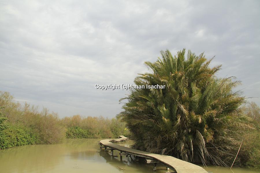 Israel, Coastal Plain, Ein Afek nature reserve