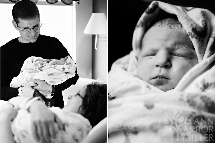 Birth Story: Erin and Dean welcome Claire and Elise into the world.