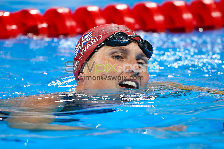 Picture by Alex Whitehead/SWpix.com - 11/09/2016 - 2016 Rio Paralympic Games - Swimming - Olympic Aquatics Stadium, Rio de Janeiro, Brazil - Stephanie Millward of Great Britain competes in the Women's 100m Freestyle S8 Final.