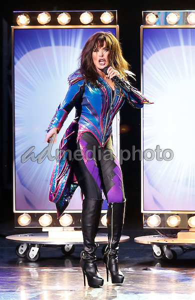 09 February 2016 - Las Vegas, Nevada - Marie Osmond. Donny and Marie Osmond's first Las Vegas  performance of 2013 with the unveiling of their Madame Tussaud's Wax Figures at Flamingo Las Vegas. Photo Credit: MJT/AdMedia