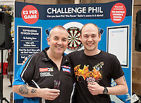 Tom Hill from Swallownest in Sheffield, put up a brave 140 score but was stil no match for Phil 'The Power' Taylor