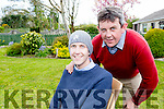 Andrew Griffin Killorglin, with his brother Sean who was giving him a transplant in Dublin this week