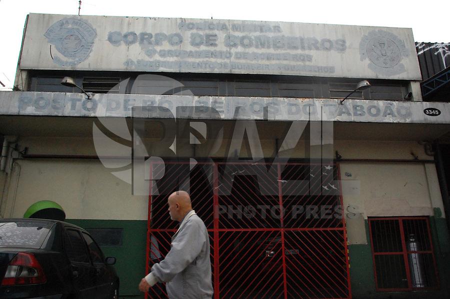 GUARULHOS, SP, 15.05.2015 - BOMBEIROS-CRISE - O Posto de Bombeiros do Taboão, localizado na cidade de Guarulhos, pertencente ao 5º Grupamento de Bombeiros teve suas atividades encerradas na manhã da última quarta-feira (13) Devido a falta de verbas. (Foto: Renato Gizzi / Brazil Photo Press).