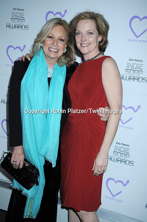Tina Sloan and Orlagh Cassidy attending The 2nd Annual Indie Soap Awards on February 21, 2011 at The Alvin Ailey Studios in  New York City sponsored by We Love Soaps.