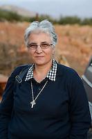 LEBANON Deir el Ahmad, a maronite christian village in Beqaa valley, syrian refugee camp / LIBANON Deir el Ahmad, ein christlich maronitisches Dorf in der Bekaa Ebene, Good Shepherds Sisters der maronitischen Kirche, Schwester Amira Tabet im Camp fuer syrische Fluechtlinge