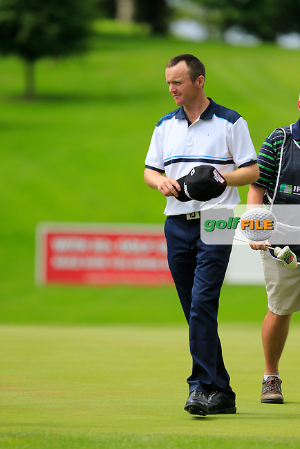 Michael Hoey (NIR) on the 9th during round 2 of the Irish Open, Fota Island, Cork, Ireland.<br /> Picture:  Fran Caffrey www.golffile.ie