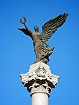 Statue On The Piazza Regina Elena, Former Italian Concession, Tianjin (Tientsin).