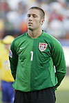 06 July 2007: USA goalkeeper Chris Seitz. The Under-20 Men's National Team of the United States defeated Brazil's Under-20 Men's National Team 2-1 in a Group D opening round match at Frank Clair Stadium in Ottawa, Ontario, Canada during the FIFA U-20 World Cup Canada 2007 tournament.