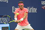 September  6, 2017:  Rafael Nadal (ESP) defeated Andrey Rublev (RUS  6-1, 6-1, 6-2 at the US Open being played at Billy Jean King Ntional Tennis Center in Flushing, Queens, New York. Leslie Billman/EQ