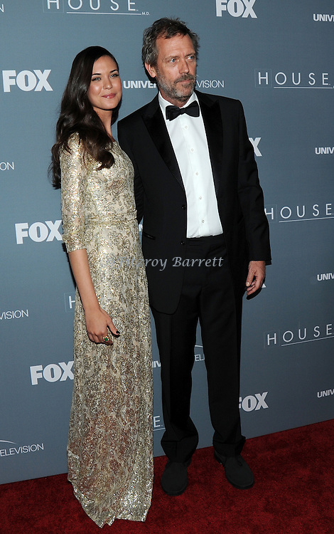 Odette Annable and Hugh Laurie attending the House Series  Finale Wrap Party, held at Cicada's in Los Angeles, CA. April 20, 2012