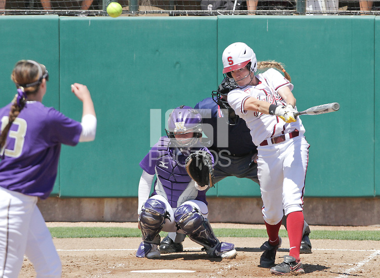 STANFORD, CA - April 30, 2011:  Jenna Rich during Stanford's 7-1 loss to Washington at Stanford, California on April 30, 2011.