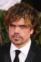 LOS ANGELES, CA - JANUARY 18: Peter Dinklage at the 20th Annual Screen Actors Guild Awards held at The Shrine Auditorium on January 18, 2014 in Los Angeles, California. (Photo by Xavier Collin/Celebrity Monitor)