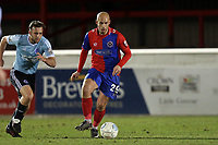 Jake Howells of Dagenham  during Dagenham & Redbridge vs Aldershot Town, Vanarama National League Football at the Chigwell Construction Stadium on 10th February 2018