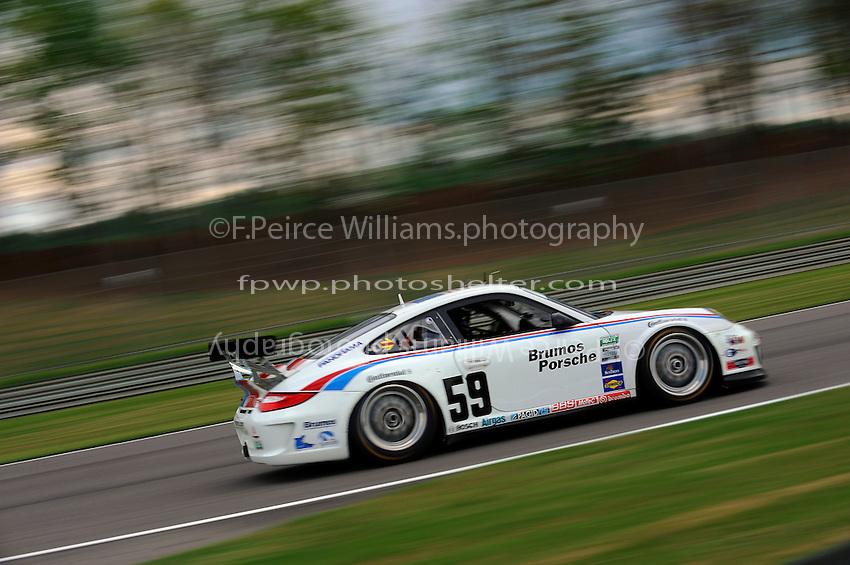 #59 Brumos Racing Porsche GT3 of Andrew Davis & Leh Keen class: Grand Touring (GT)