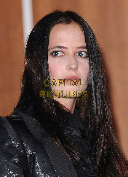 EVA GREEN.Announces the five nominees for the Rising Star Award for the Orange British Academy Awards (BAFTA), Picadilly, London, ENGLAND..January 8th, 2008.headshot portrait . CAP/ BEL.©Tom Belcher/Capital Pictures.