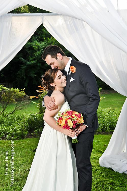 Garden Wedding & Tented Reception. Photography by ©John Drew   Professionalimage.com. #Professionalimage.