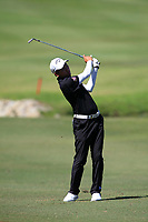 Phachara Khongwatmai (THA) in action on the 6th during Round 3 of the Maybank Championship at the Saujana Golf and Country Club in Kuala Lumpur on Saturday 3rd February 2018.<br /> Picture:  Thos Caffrey / www.golffile.ie<br /> <br /> All photo usage must carry mandatory copyright credit (© Golffile | Thos Caffrey)