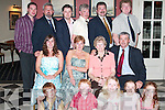 BIRTHDAY: Teresa Healy, Convent Cross, Listowel (seated second from right), celebrated.her 80th birthday with family and friends in The Listowel Arms Hotel on Saturday.night. Pictured with Teresa are, in front from left, Michael, Alan, Ann Maria, Kim and.Michelle Healy. Seated are Laura and Mairead Barnes, Teresa Healy (birthday lady) and.Brendan Healy. Back from left, Kevin Barnes, Gus, Peter, PJ, Sean and Kieran Healy.