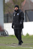 Barking manager Justin Gardner during Barking vs South Park, BetVictor League South Central Division Football at Mayesbrook Park on 7th March 2020