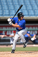 Chase Smartt (26) of Charles Henderson High School in Troy, Alabama playing for the New York Mets scout team during the East Coast Pro Showcase on August 2, 2014 at NBT Bank Stadium in Syracuse, New York.  (Mike Janes/Four Seam Images)