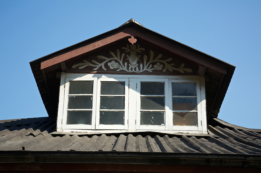 Dormer Window On One Of The Two Southern Baptist Convention Properties In Zhenjiang (Chinkiang).