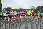 The runners at the start of the Farranfore/Maine Valley AC road race in Farranfore on St Stephen's day