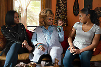 Nobody's Fool (2018) <br /> Tika Sumpter, Whoopi Goldberg and Tiffany Haddish<br /> *Filmstill - Editorial Use Only*<br /> CAP/MFS<br /> Image supplied by Capital Pictures