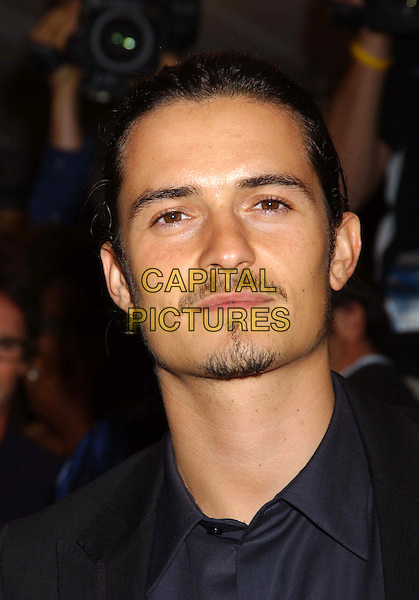"ORLANDO BLOOM.The premiere of ""Elizabethtown"" at the Roy Thompson Hall, part of the 2005 Toronto Film Festival, Toronto, Canada..September 10th, 2005.Photo Credit: Laura Farr/Admedia.headshot portrait mustache facial hair goatee.www.capitalpictures.com.sales@capitalpictures.com.© Capital Pictures."
