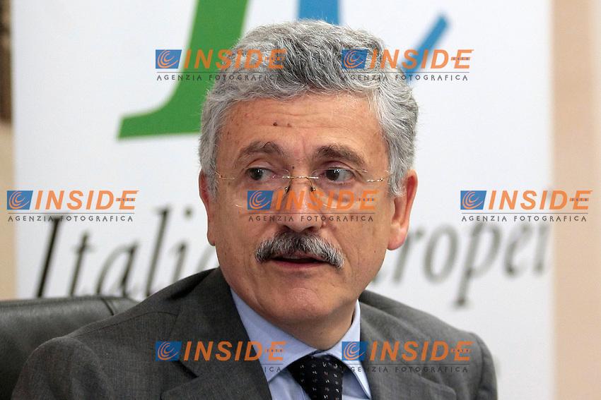 Massimo D'Alema<br /> Roma 16/07/2013 Primo incontro per promuovere l'Associazione Italianieuropei<br /> Photo Samantha Zucchi Insidefoto