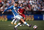 Carl Medjani of Deportivo Leganes in action during their La Liga match between Deportivo Leganes and Sevilla FC at the Butarque Municipal Stadium on 15 October 2016 in Madrid, Spain. Photo by Diego Gonzalez Souto / Power Sport Images