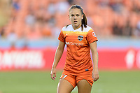 "Houston, TX - Sunday August 13, 2017:  Andressa Cavalari Machry ""Andressinha"" during a regular season National Women's Soccer League (NWSL) match between the Houston Dash and FC Kansas City at BBVA Compass Stadium."