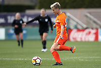Portland, OR - Wednesday March 14, 2018: Janine Van Wyk during a National Women's Soccer League (NWSL) pre season match between the Houston Dash and the Chicago Red Stars at Merlo Field.