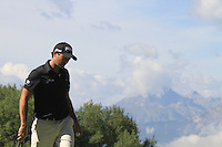 Gareth Maybin (NIR) on the 13th on the 1st day of the Omega European Masters, Crans-Sur-Sierre, Crans Montana, Switzerland..Picture: Golffile/Fran Caffrey..