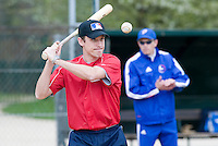 18 April 2006: Jason Holowaty is seen during the third of seven 2006 MLB European Academy Try-out Sessions throughout Europe, at Stade Pershing, INSEP, near Paris, France. Try-out sessions are run by members of the Major League Baseball Scouting Bureau with assistance from MLBI staff.
