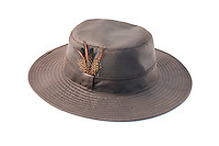 Studio Photograph of the Wanderer Wax Outback Hat