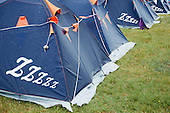 The campsite of the 22nd World Scout Jamboree is full of tents.
