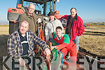 PLOUGH: Ploughing in the Causeway Ploughing Championships on Sunday in Causeway, L-r: Patsy O'Rourke Tom Moran (Ballyduff), Mark and Christopher Barrett (Causeway).................................. ....