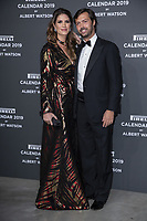 "Giovanni Tronchetti Provera and his wife Nicole Moellhausen attend the gala night for official presentation of the Presentation of the Pirelli Calendar 2019 ""The cal"" held at the Hangar Bicocca. Milan (Italy) on december 5, 2018. Credit: Action Press/MediaPunch ***FOR USA ONLY***"