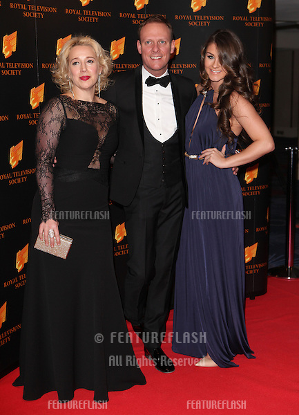 Katy Cavanagh, Antony Cotton and Brooke Vincent arriving for the RTS Awards 2014, Grosvenor House Hotel, London. 18/03/2014 Picture by: Alexandra Glen / Featureflash