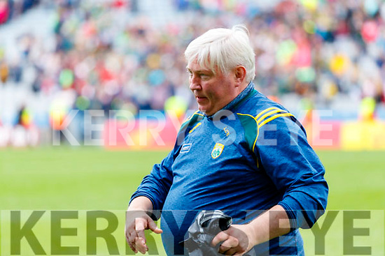 Liam O'Regan Physio after the All Ireland Senior Football Semi Final between Kerry and Tyrone at Croke Park, Dublin on Sunday.