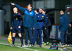 Partick Thistle v St Johnstone&hellip;23.02.16   SPFL   Firhill, Glasgow<br />Tommy Wright shouts instructions<br />Picture by Graeme Hart.<br />Copyright Perthshire Picture Agency<br />Tel: 01738 623350  Mobile: 07990 594431