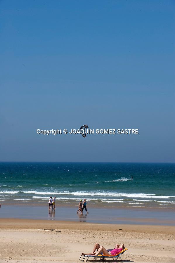 PLAYA DE BERRIA SANTOÑA.imagen de la playa de Berria en la localidad de Santoña en Cantabria.foto © JOAQUIN GOMEZ SASTRE