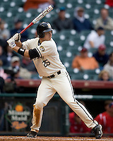 Missouri TIger Jonah Schmidt against the Houston Cougars on Friday March 5th, 2100 at the Astros College Classic in Houston's Minute Maid Park.  (Photo by Andrew Woolley / Four Seam Images)