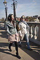 Photos for Kingston University  London international student brochures and prospectuses.??Relaxing and socialising .Kingston Bridge (towards Kingston)Walking across the bridge in groups with Kingston town/river back drop.??Date Taken: 19/04/10??Location: Kingston Bridge??Contact:??Commissioned by:  Kingston University - Emma Carlino?Emma Carlino.International Marketing Communications Manager.International Centre.Kingston University London.Swan Wing, River House.53-57 High Street.Kingston upon Thames.London.KT1 1LQ.UK.Tel: +44(0)20 8417 3006.Fax: +44(0)20 8417 3028.Email: e.carlino@kingston.ac.uk.Website: www.kingston.ac.uk/international