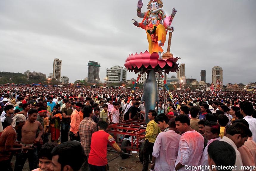 Ganesha Festival in Mumbai,INDIA