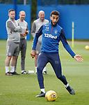 28.08.2019 Rangers training: Connor Goldson