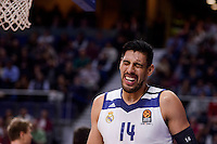 Real Madrid's Gustavo Ayon during Turkish Airlines Euroleague match between Real Madrid and CSKA Moscow at Wizink Center in Madrid, Spain. January 06, 2017. (ALTERPHOTOS/BorjaB.Hojas)