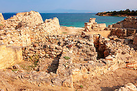 The Greek archaeological site of Ancient Aegina, Kolna, Greek Saronic Islands